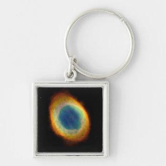The Eye of God - ring nebula Key Chains