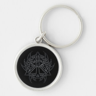 The Eye of Providence - All-Seeing Eye Keychain. Key Ring