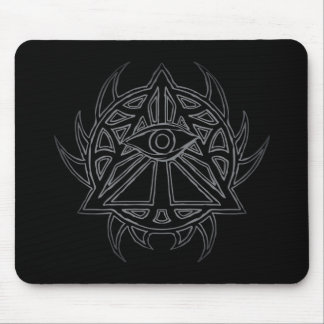 The Eye of Providence - All-Seeing Eye Mousepad. Mouse Mat