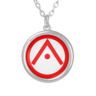 The Eye of Providence Silver Plated Necklace