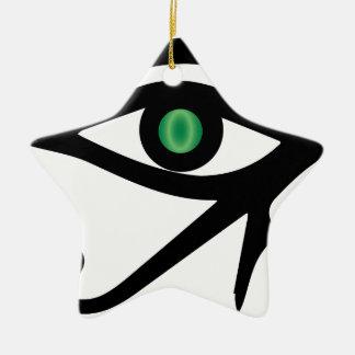 The Eye of Ra Christmas Ornament