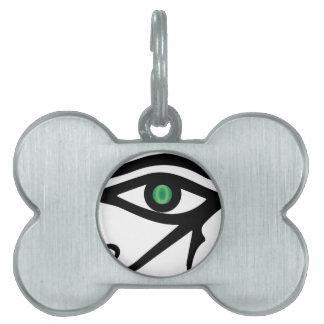 The Eye of Ra Pet Name Tag