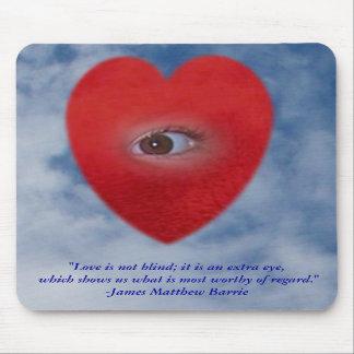 The Eye of The Heart Mousepad