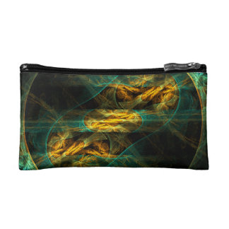 The Eye of the Jungle Abstract Art Cosmetic Bags