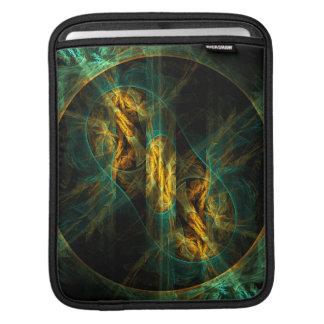 The Eye of the Jungle Abstract Art iPad Sleeve
