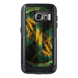 The Eye of the Jungle Abstract Art OtterBox Samsung Galaxy S7 Case