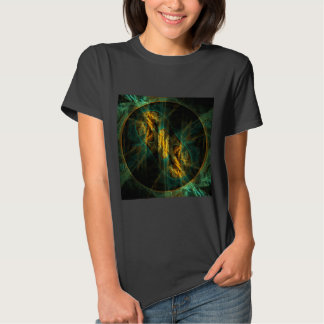 The Eye of the Jungle Abstract Art T Shirts