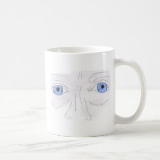 The Eyes Basic White Mug