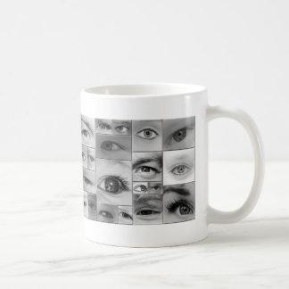 The Eyes Have It Basic White Mug