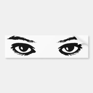 The Eyes Have It Bumper Sticker