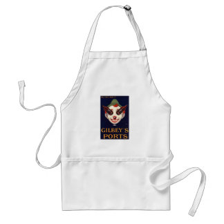 The Eyes Have It! Vintage Port Advertisement Aprons
