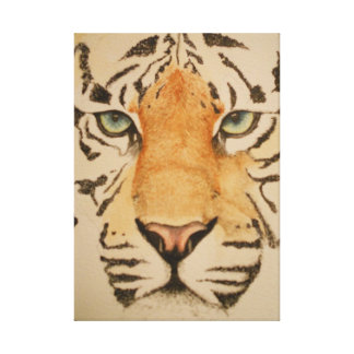 the eyes of the tiger canvas print