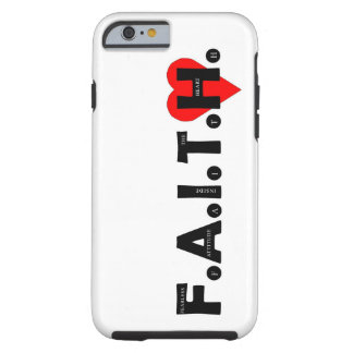 The F.A.I.T.H. I-Phone protection case. Tough iPhone 6 Case
