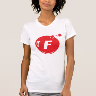 The F Bomb Red Apple Tees