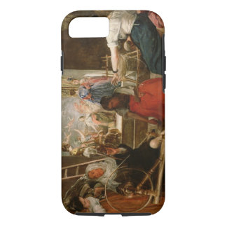 The Fable of Arachne, or The Spinners, c.1657 (oil iPhone 8/7 Case