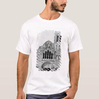 The Facade of La Madeleine de Vezelay T-Shirt