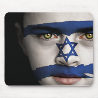 The face of Israel Mouse Mat