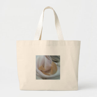 The Face of Jesus Christ in the Eucharist (New 3D) Large Tote Bag