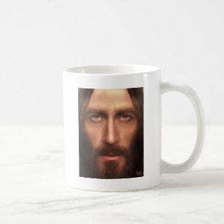 The face of Jesus Coffee Mugs