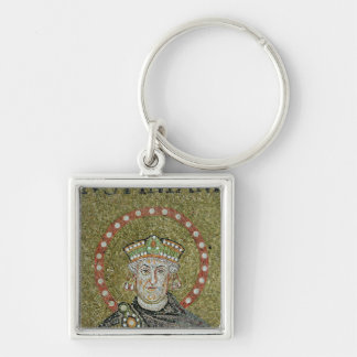The face of Justinian Key Ring