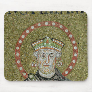 The face of Justinian Mouse Mat