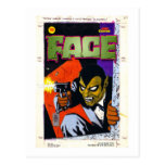 The FACE Original Art by Alex Toth Post Card