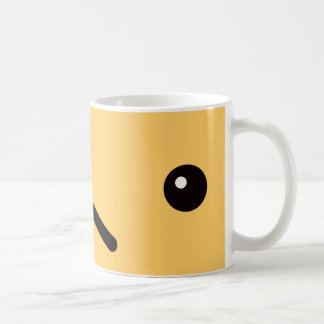 The face tsu po of the dog it is, the magnetic cup basic white mug