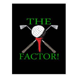 The Factor Postcard