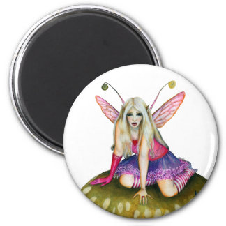The Faerie Odette 6 Cm Round Magnet