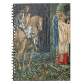 The Failure of Sir Gawain William Morris Tapestry Spiral Note Books