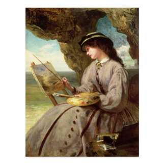 The Fair Amateur, 1862 Postcard