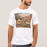 The Fair in Dieppe, Sunny Morning, 1901 T-Shirt
