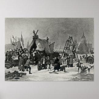 The Fair on the Thames Print