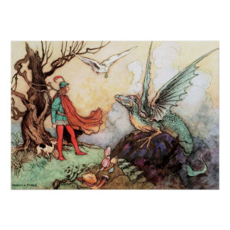The Fair One by Warwick Goble Poster