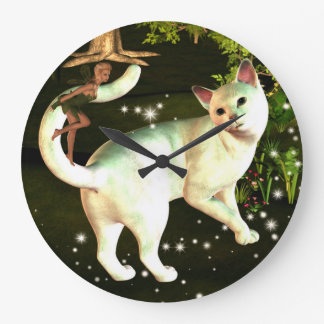 The fairy and the cat clock