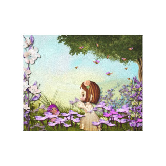 The Fairy Caretaker Canvas Canvas Print