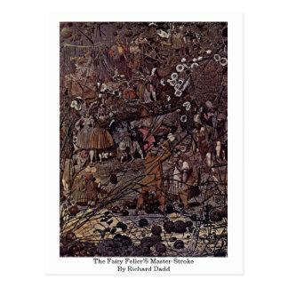 The Fairy Feller'S Master-Stroke By Richard Dadd Postcard