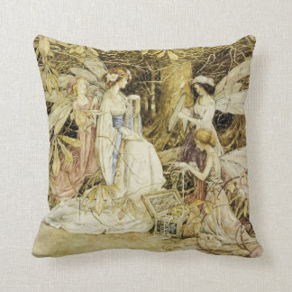 """The Fairy Jewels"" Throw Pillow"