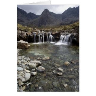 The Fairy Pools, Isle of Skye Card