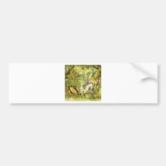 The Fairy Prince and Thumbelina Bumper Sticker