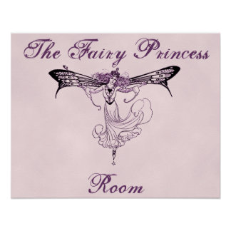 The Fairy Princess Room Poster Print