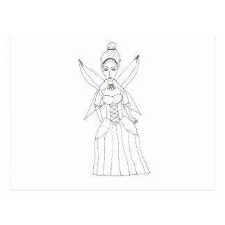 The Fairy Queen Postcard