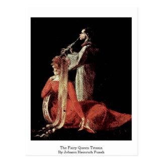 The Fairy Queen Titania By Johann Heinrich Fuseli Postcard