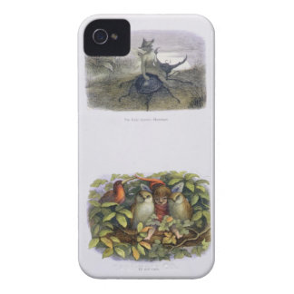 The Fairy Queen's Messenger, and Elf and Owls, ill iPhone 4 Covers