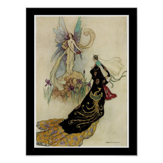 The Fairy There Welcomed Her Majesty Poster