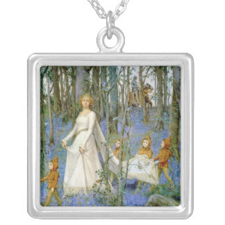 The Fairy Wood Silver Plated Necklace