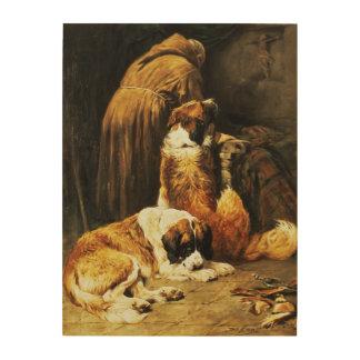The Faith of St. Bernard Wood Canvases