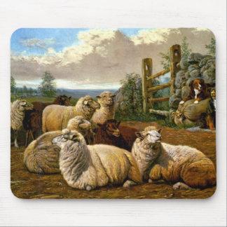 The faithful shepherds mouse mat