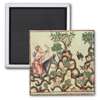 The Falcon Hunt, from the manuscript Refrigerator Magnets