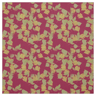 The fall, autumn leaves.customize me. fabric